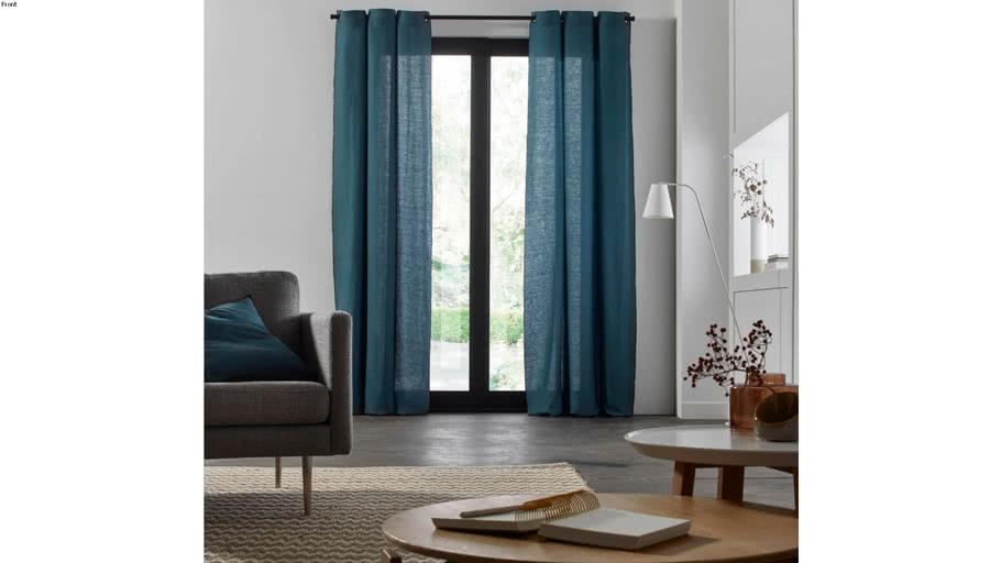 Eyelet Curtain CARLINA by Madura Blue-green / 109€ - 219€ TTC