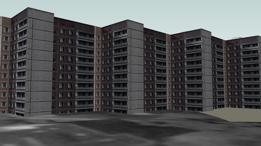 Lesya Ukrainka Street, 42 building (Pripyat)
