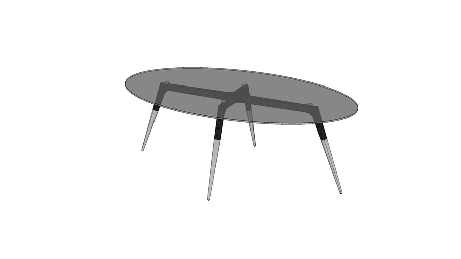 ASSEMBLY TABLE OVAL SMALL MLO153-O-M