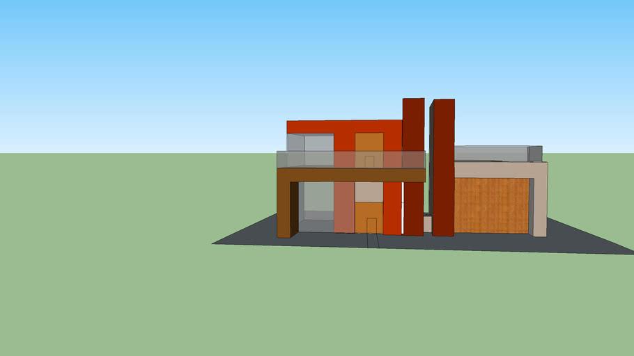 Minecraft Modern House 3d Warehouse