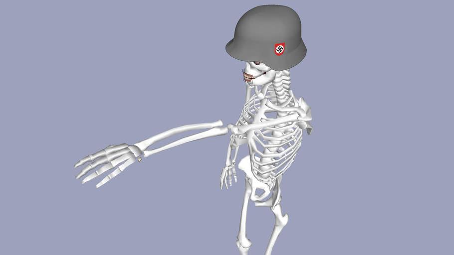 nazi skeleton