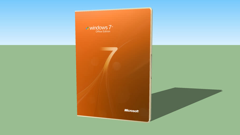 Windows 7 Office Edition DvD Cover