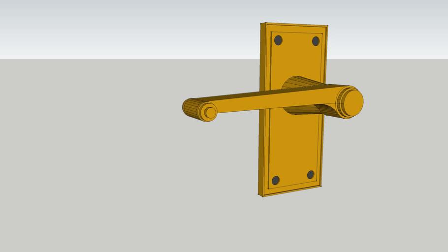 Brass Antique door handle