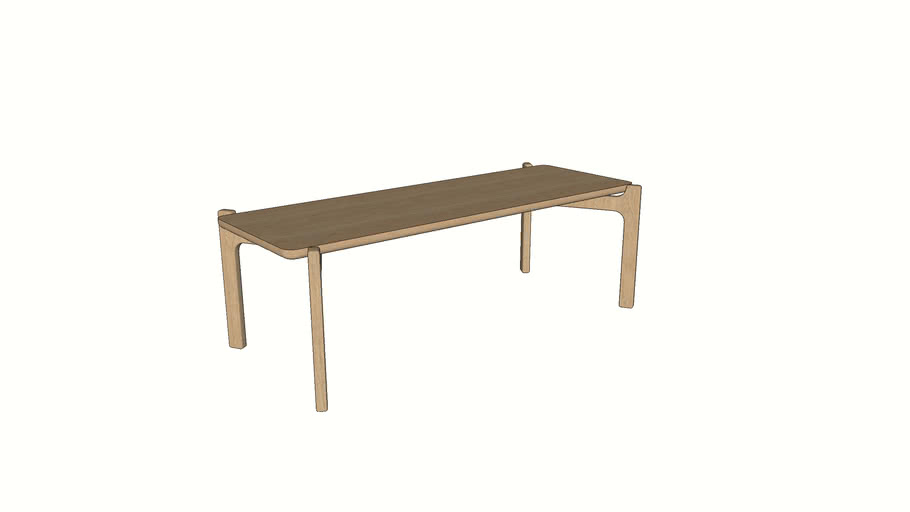 Shaw Coffee Table - Contemporary Furniture by Liqui