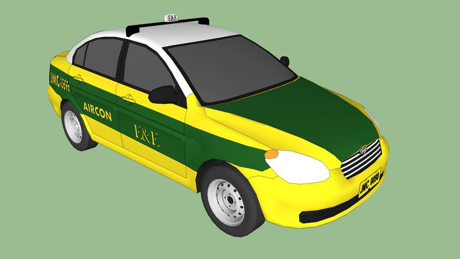 2006-Hyundai-Accent E&E Taxi