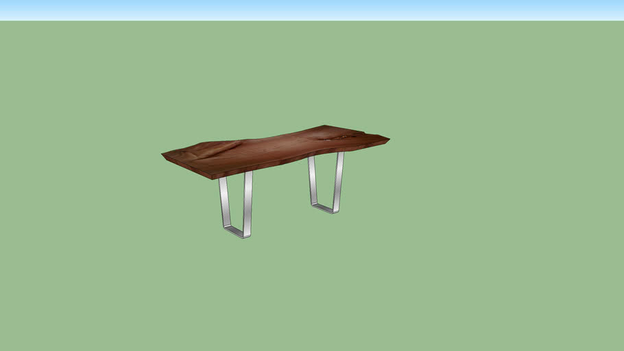 Live Edge table diner