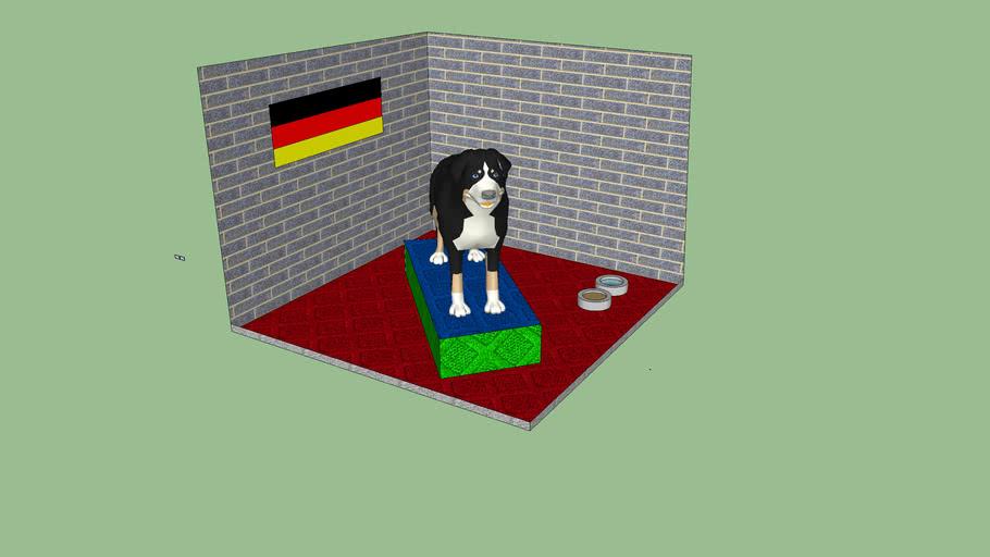 Dog With Dog House