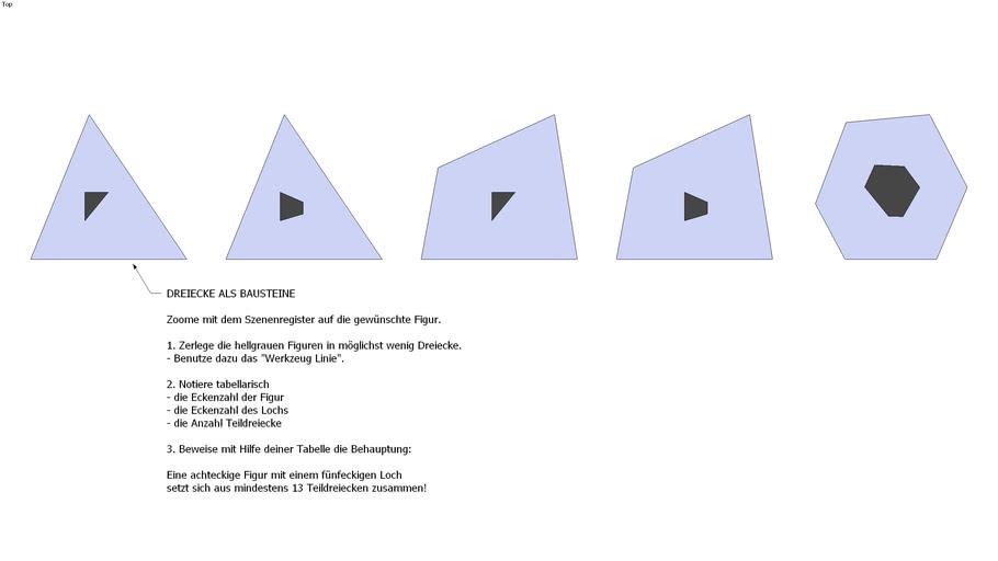 Dreiecke als Bausteine 2