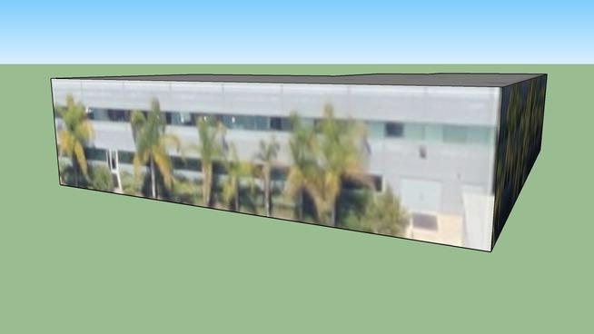 Construção em San Diego, Califórnia, USA
