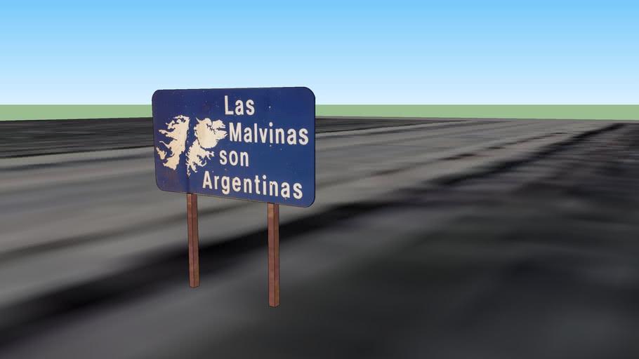 Cartel Malvinas Argentinas