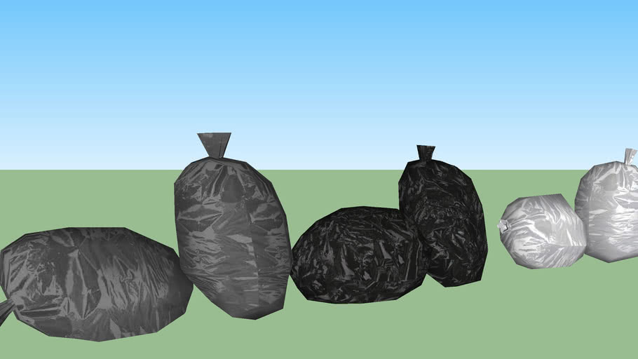 Trash bag set