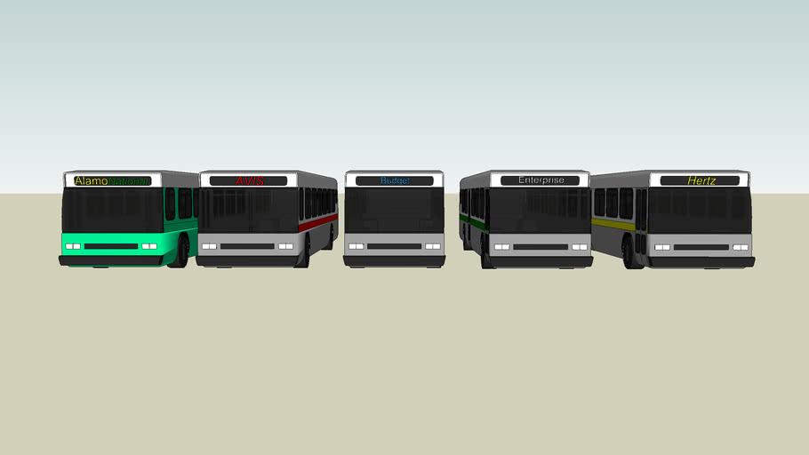 DTW Ground Transport Mega-Pack 1