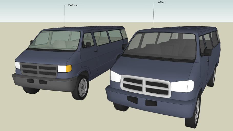 Dodge Van Facelift