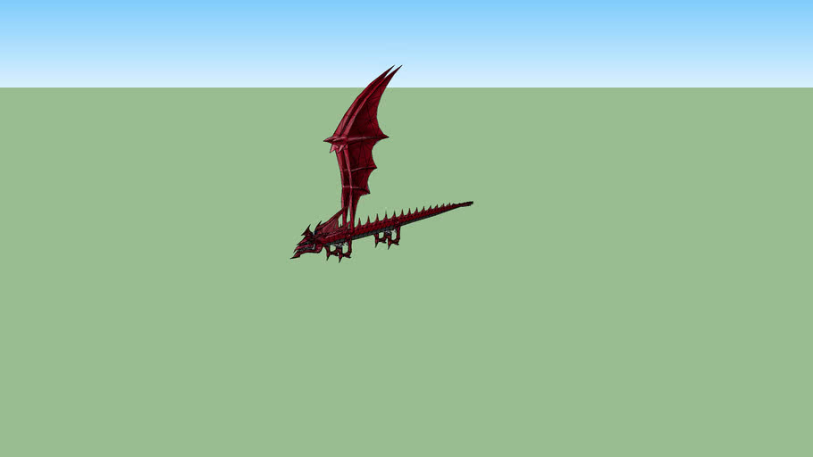 slifer the sky dragon from yugioh game