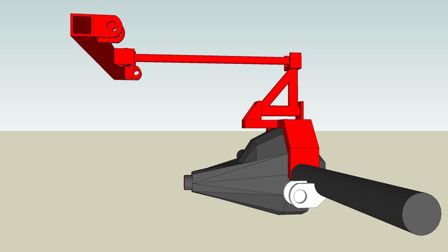 Ant wrap axle