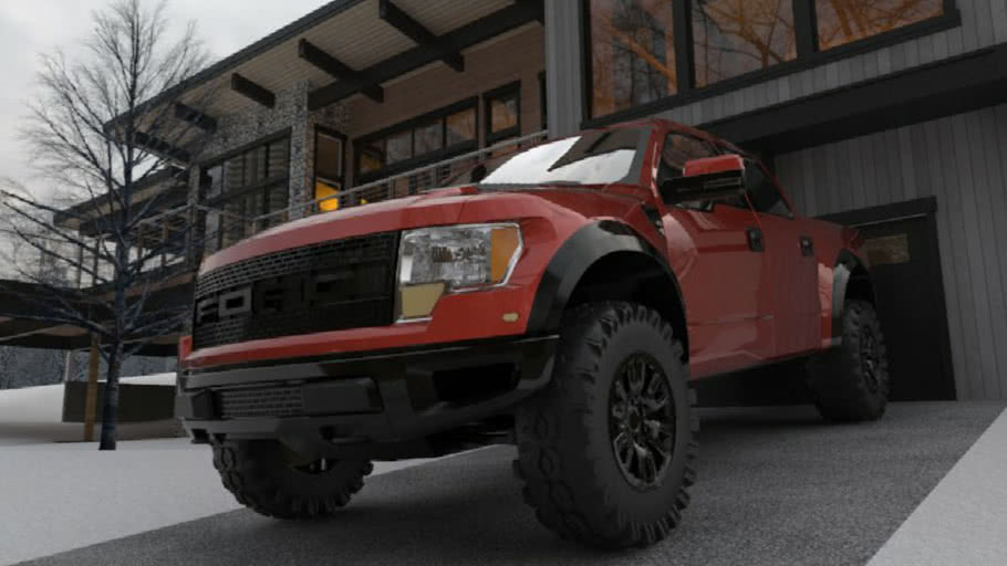 My first Ford Raptor car