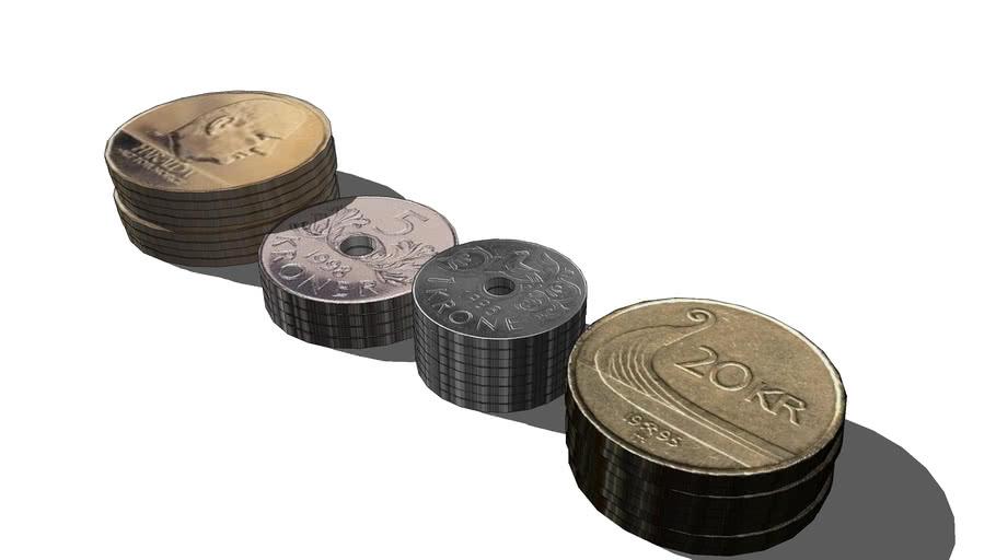 Norwegian Money ( Coins )
