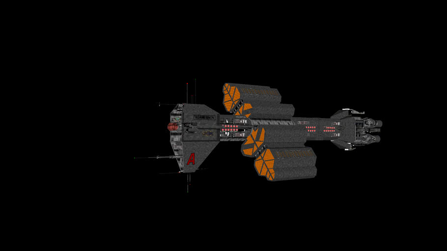 Omega class carrier Agamemnon (updated and refitted)