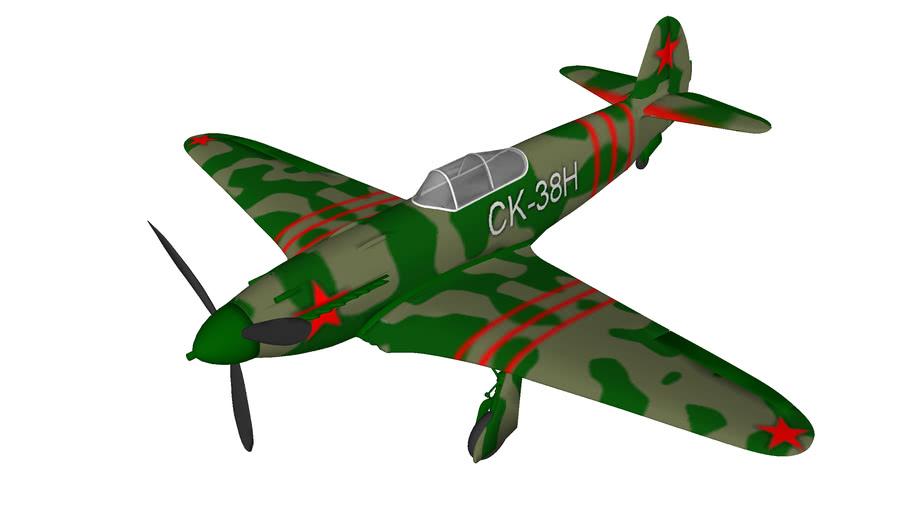 avion de chasse Yakovlev Yak-3