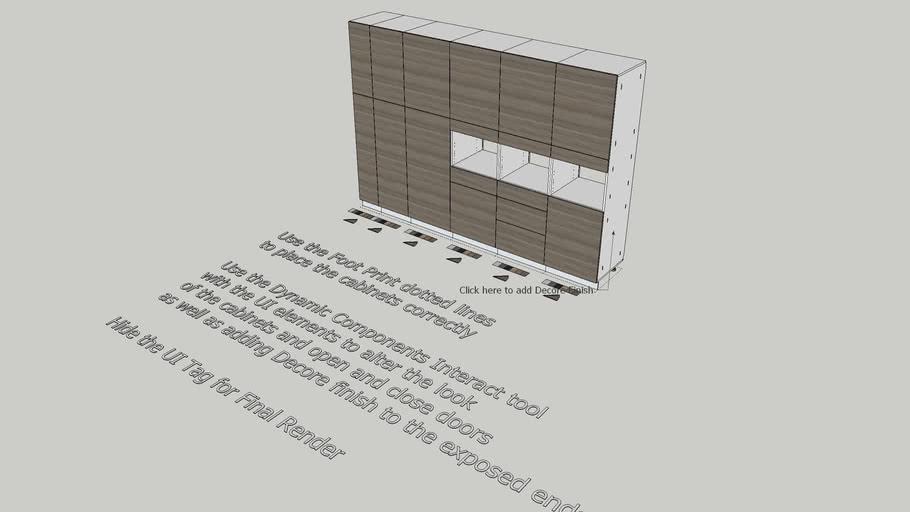 PW Kitchen Tall Units