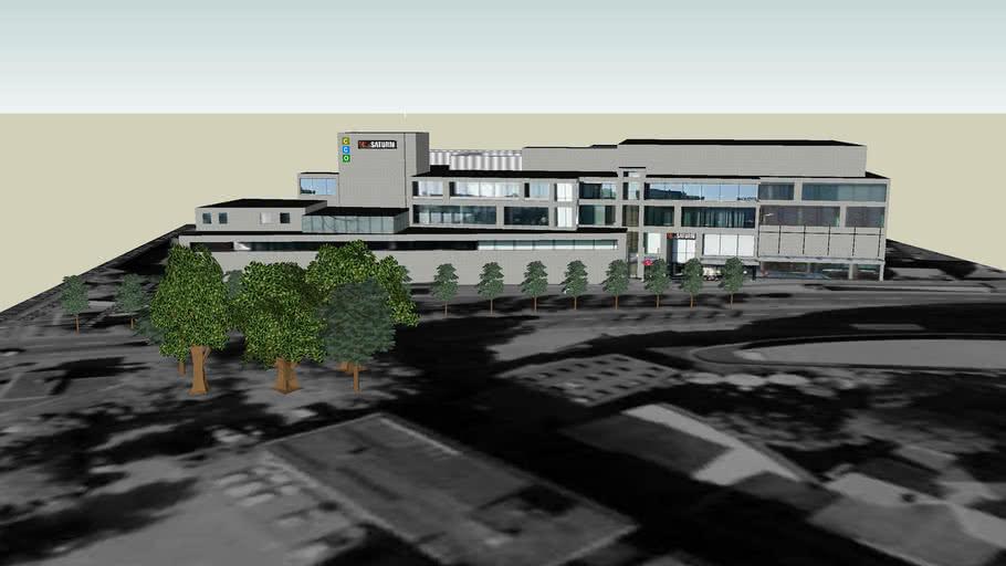 CCO City Center Oldenburg | 3D Warehouse