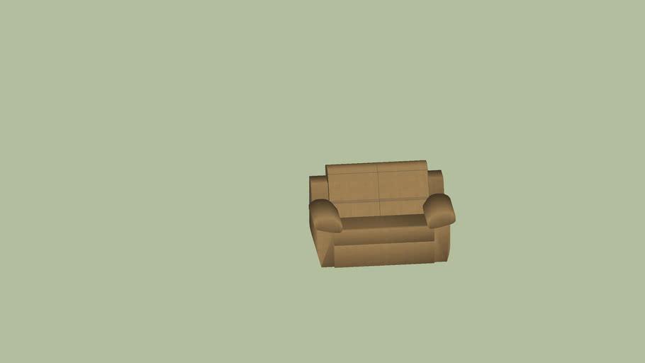 Sofa 2 Lugares Reclináveis