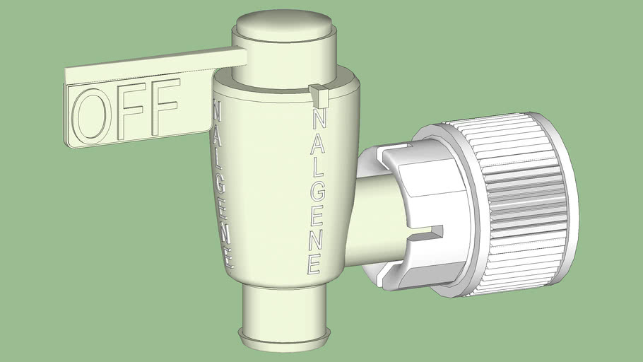 Industrial Series - Containers - Carboy - Nalgene - Spigot Valve -Teflon®,