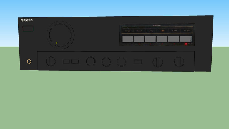 Sony integrated stereo amplifier TA-F555ES