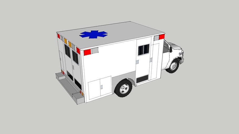 ambulance type lll  ford f350 econoline model 2008