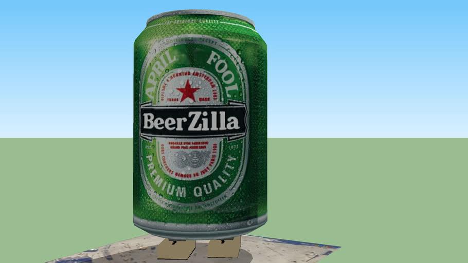 BEERZILLA aprilsfool 2011 (REUP with Beerzilla texture)