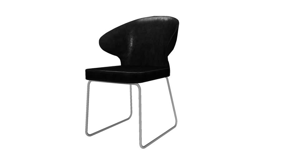 KARE 79981 Chair Atomic Black (Stuhl Atomic Schwarz)