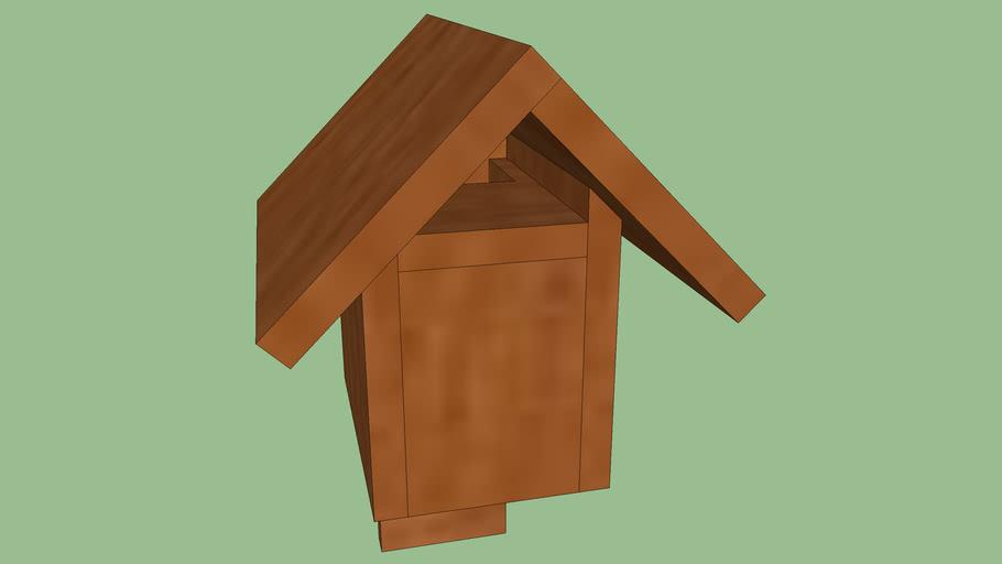 Open-gable nest box