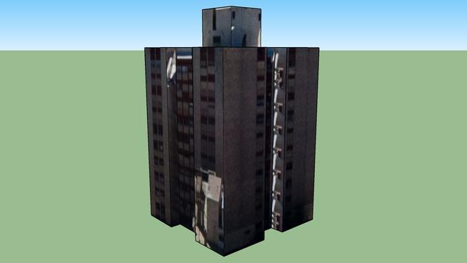 Building in 25 de Mayo, Mendoza, Mendoza Province, Argentina