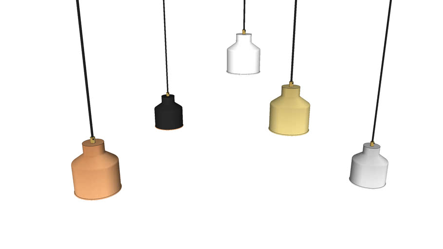 Cell Naked Pendant Small - Contemporary Ceiling Light by Liqui