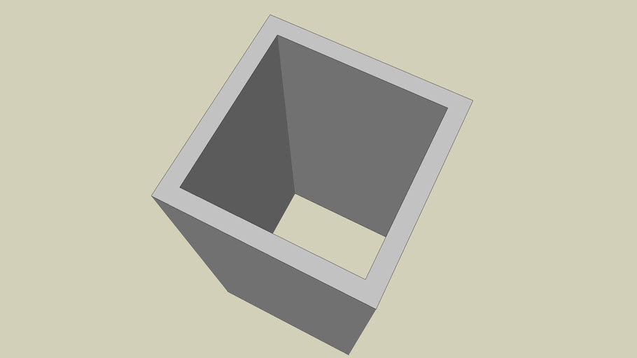 STEEL SECTION - SQUARE HOLLOW SECTION SIZE 120 X 120 - PART 072 OF 180