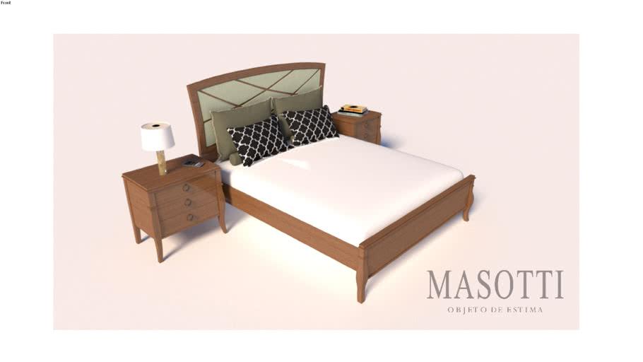 Cama Casal Coleção Masotti MAS.380.11 F15
