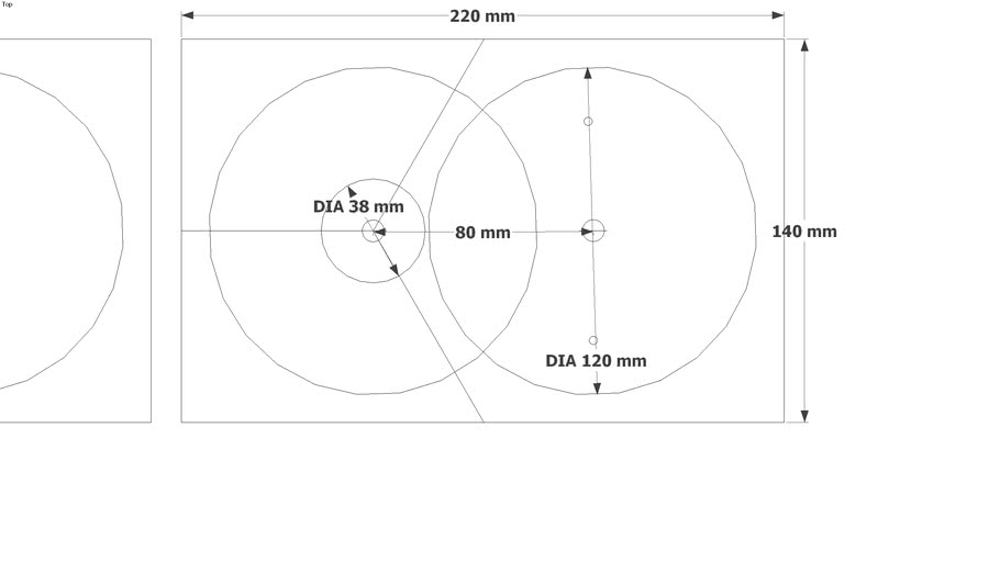Star Knob Jig Template with Dimentions