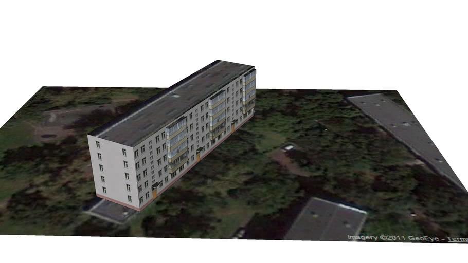 Russia,  Moscow, Zelenij Prospect,  25, Block 3