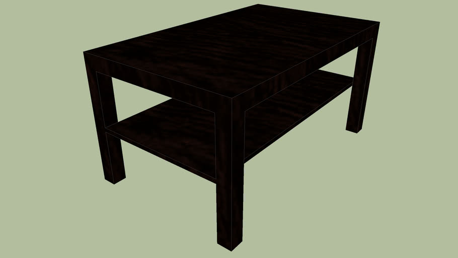 Lack coffee table (exact dimensions) | 3D Warehouse