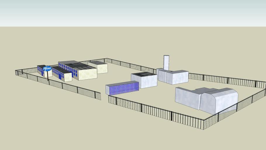 Pfizer Laboratories Laboratorios Pfizer 3d Warehouse