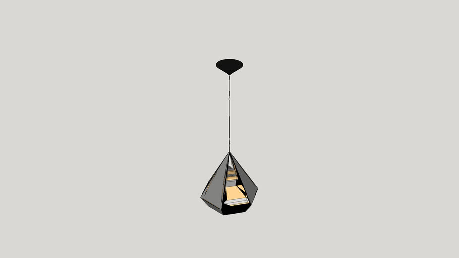 Idlewild 1 Light Foyer Pendant