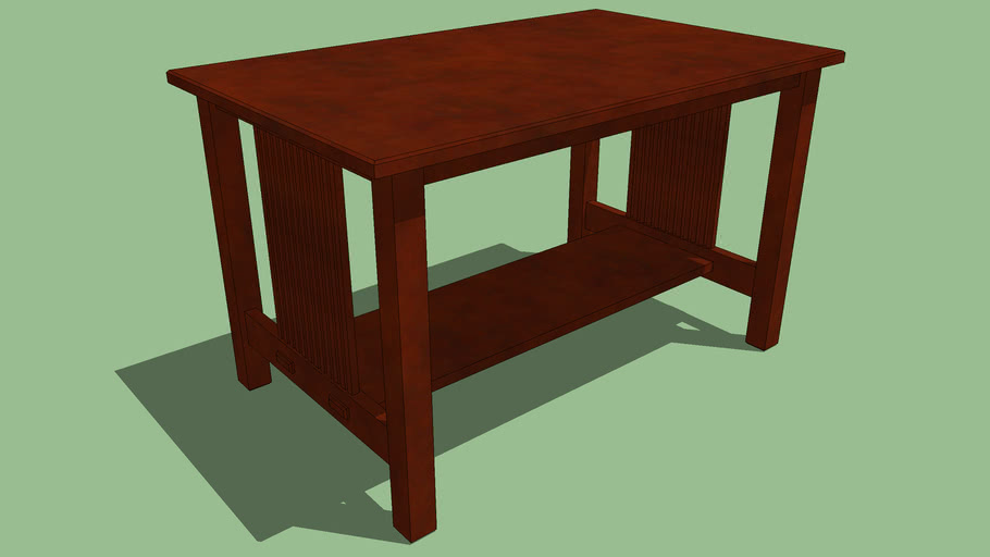 Stickley, Gustav - Library Table, No. 655