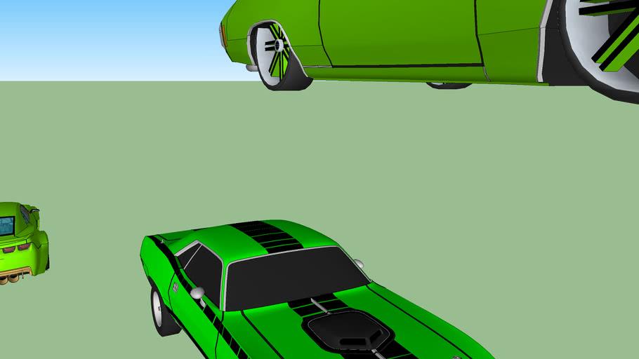 my 3 favroite cars