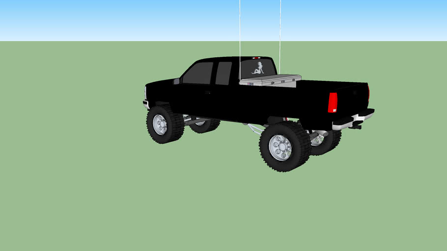 90's Style Chevy 2500.