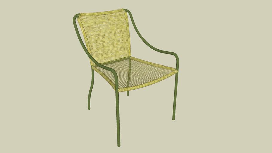 cadeira amarela saccaro