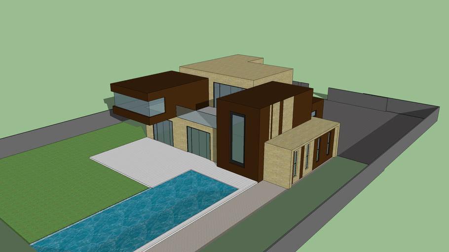 Maison Contemporaine Moderne 3d Warehouse