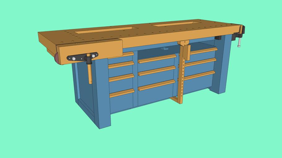Shaker Workbench - Full Joinery Details
