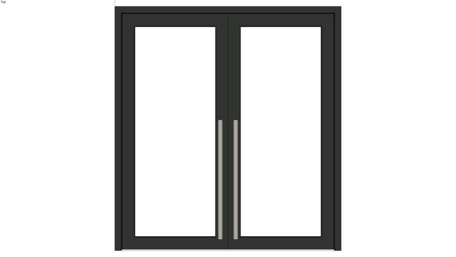 pintu kaca full
