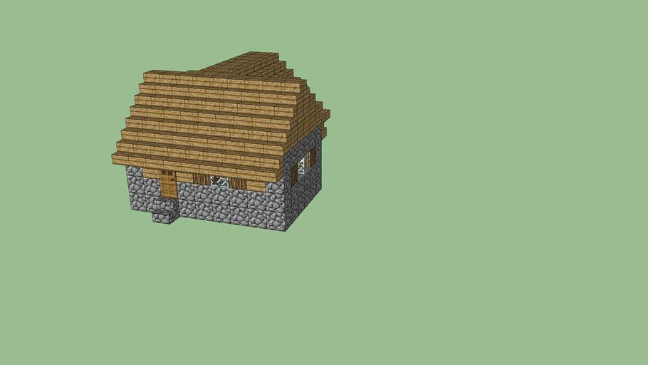 Minecraft Village House 3d Warehouse