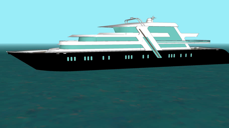 "Super Yacht ""Millennia"""